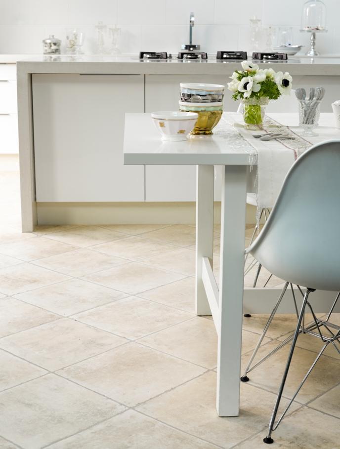 Tarkett vinyl tile flooring