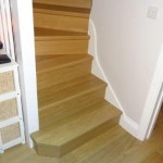 Quickstep laminate flooring to staircase