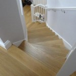 Quickstep laminate flooring to stairs and hall