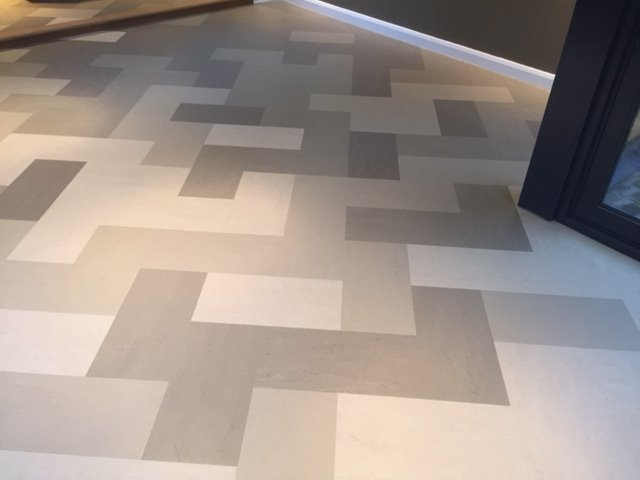 Forbo flooring supafit carpets horsham for Modular wood flooring
